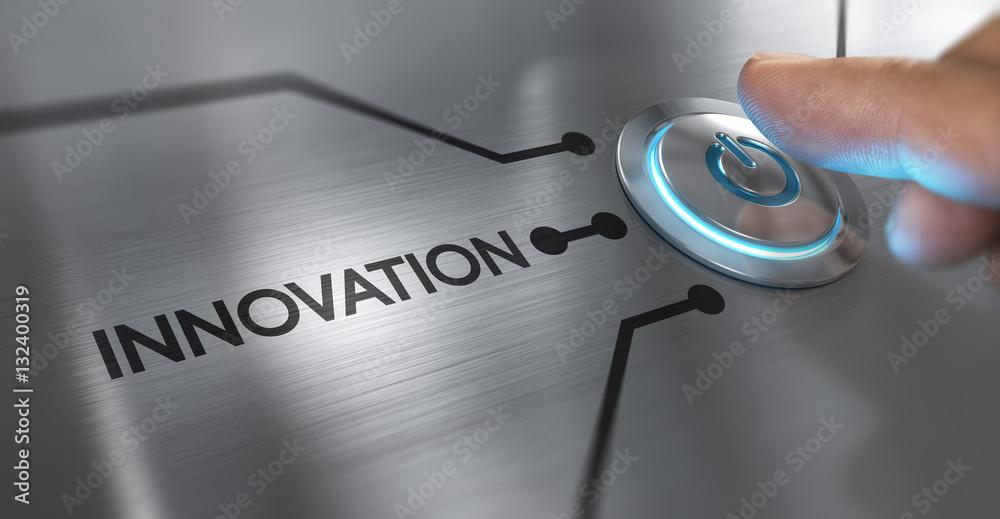 Fototapeta Innovation Concept