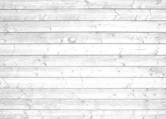 Fototapeta Helle Bretterwand grau weiß