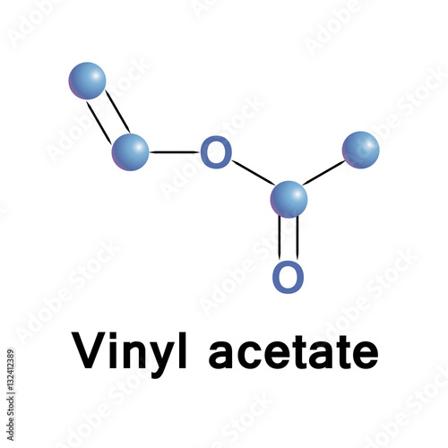 Fotografering  Vinyl acetate is an organic compound that is the precursor to polyvinyl acetate