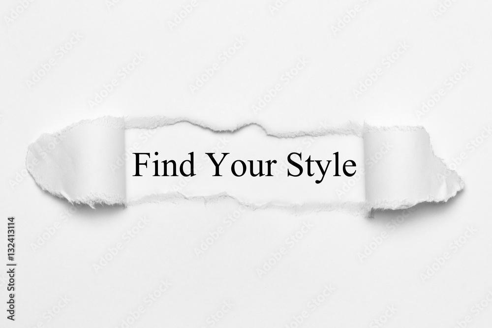 find paper