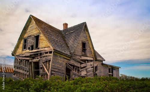 Carta da parati  shagging abandon house