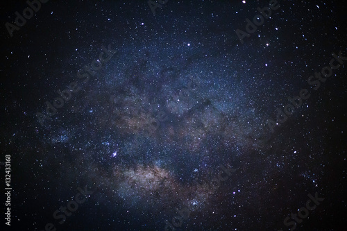 фотография  Close-up milky way galaxy with stars and space dust in the unive