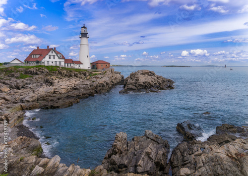 Wall Murals Lighthouse Leading light