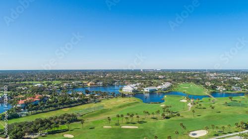 Florida Golf Aerial