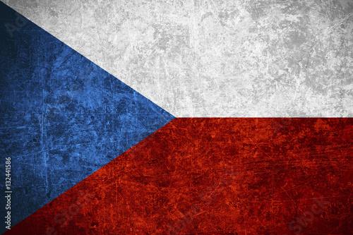 Fotografía flag of Czech