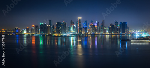 Recess Fitting China Doha Skyline