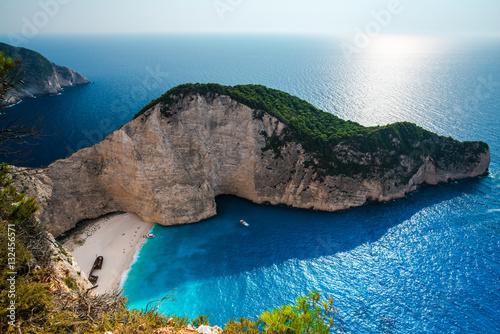 Fototapeta Beautiful sea landsacpe obraz na płótnie