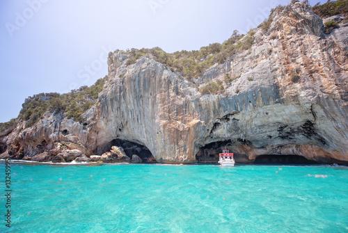 Photo  GROTTA DEL BUE MARINO, near the beach of Cala Luna, Sardegnia
