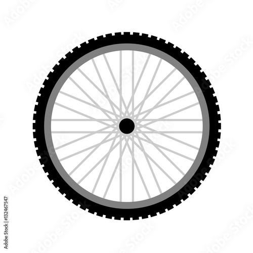 wheel bike Wall mural