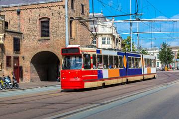 City tram in Hague