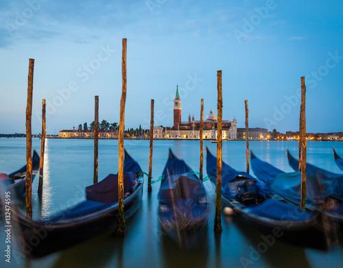 Spoed Foto op Canvas Venice - San Giorgio Maggiore at sunrise