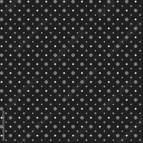 strict pixelated seamless pattern in corporate style useful for web backgrounds textile or interior - Pixelated Interior Design