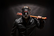 Psycho Killer In Hockey Mask O...