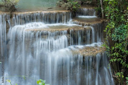 Wall Murals Waterfalls Huay Mae Kamin Waterfall Park