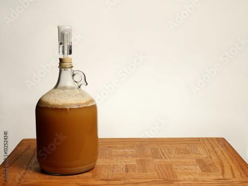Valokuva Fermenting Homebrew Beer