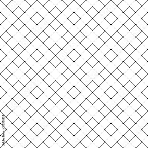 Seamless fishnet pattern Fototapeta