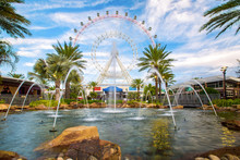 The Orlando Eye Is A 400 Feet Tall Ferris Wheel In The Heart Of Orlando And The Largest Observation Wheel On The East Coast, United States