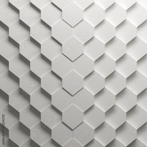 parametryczny-wzor-szesciokatny-3d-illustr