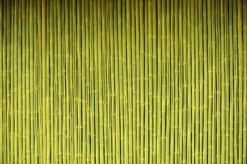 Fototapeta Bamboo fence background