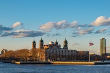 Ellis Island From Side.