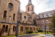 Rolduc - Medieval Abbey In Kerkrade, Netherlands. Catholic Seminary