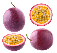 Isolated Passionfruit. Collect...