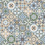 Abstrakcyjne wzory w zestawie mozaiki. - 132590163