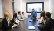 canvas print picture - Business meeting in modern conference room