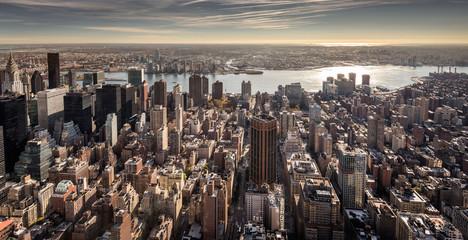 Fototapeta View of the Lower East Side of Manhattan