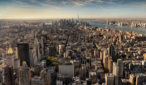View of downtown Manhattan from the Top of the Tower