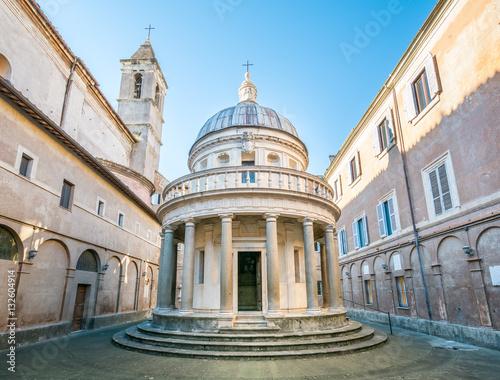 Fotomural  Bramante's Tempietto, San Pietro in Montorio, Rome
