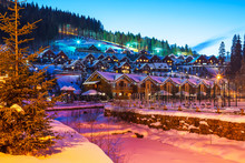 Winter Ski Resort Bukovel, Ukr...