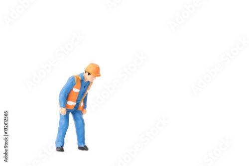 Fotografie, Obraz  Miniature people engineer worker construction concept