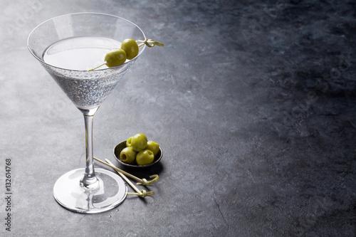 Fotografía  Martini cocktail