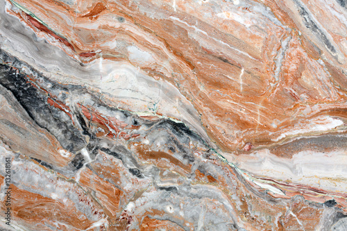 Canvas Prints Marble Mulicolored natural marble close up.