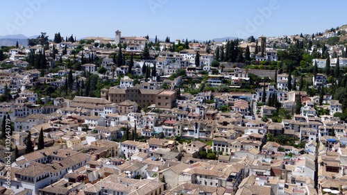 Albayzin - Granada - Buy this stock photo and explore similar images