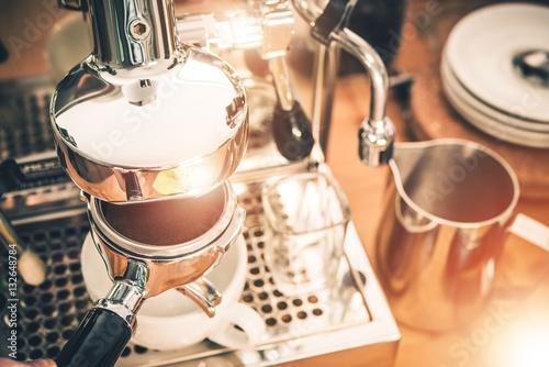 Fotografie, Obraz  Manual Coffee Machines