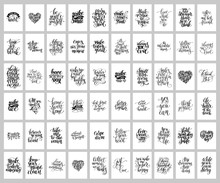 Mega Set Of 60 Hand Written Le...