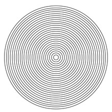 Concentric Circle Element On A...