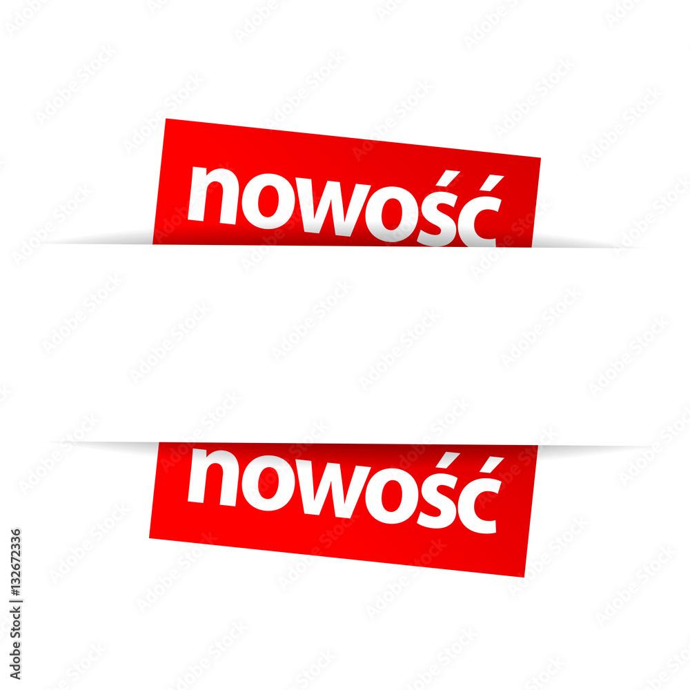Fototapeta Nowość