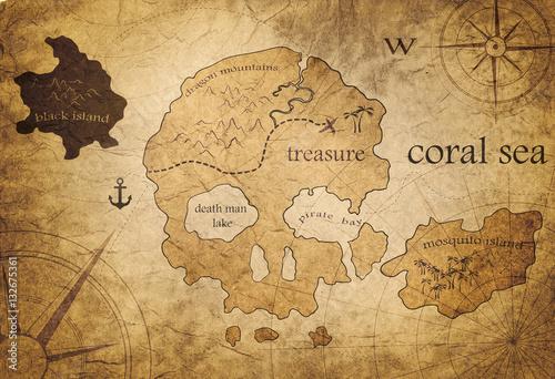 Foto treasure map