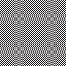 Miniature Black And White Squares. Vector