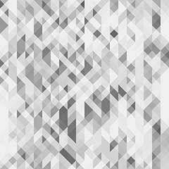 Fototapeta Gray geometric seamless pattern. Grayscale futuristic polygonal texture. Can be used as a website background. Vector. Made using clipping mask