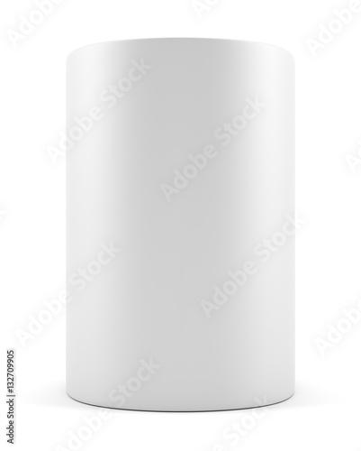 Fotomural Blank advertising cylinder
