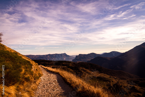 Monte Altissimo Canvas Print