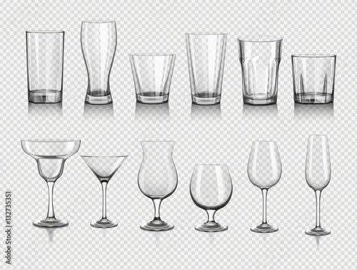 glasses for drinks