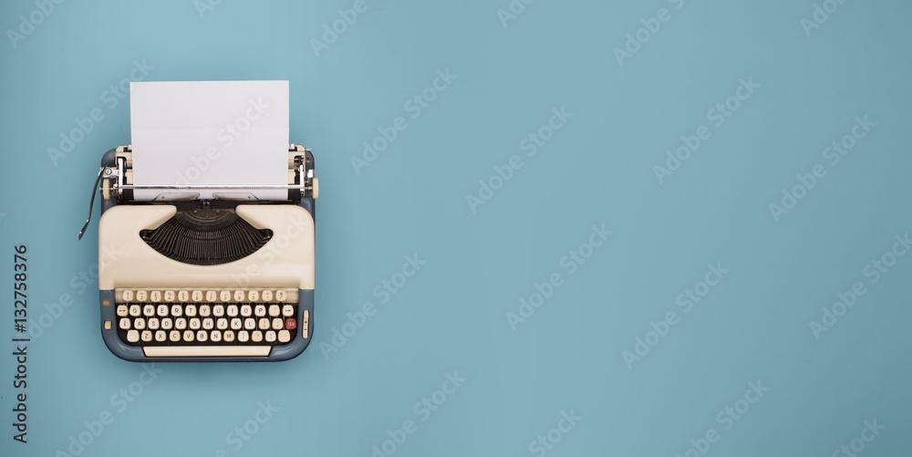 Fototapety, obrazy: Vintage typewriter