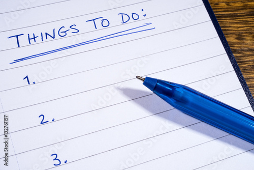 things to do checklist buy this stock photo and explore similar