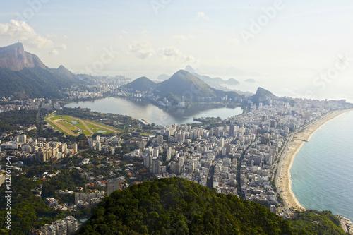 Pinturas sobre lienzo  View of two brother mountain, Rio de Janeiro