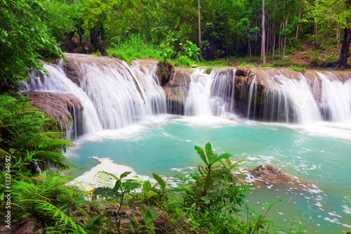 Deurstickers Watervallen waterfall of island of Siquijor. Philippines